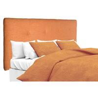 MJL Furniture Ali Button Tufted Key Largo TerraCotta Upholstered Headboard