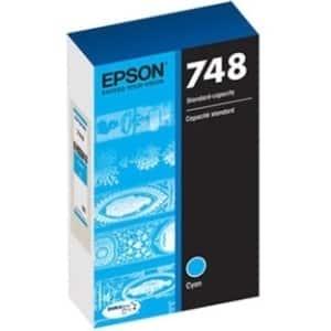 Epson DURABrite Pro 748 Ink Cartridge - Cyan