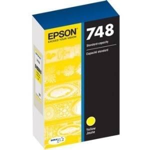 Epson DURABrite Pro 748 Ink Cartridge - Yellow