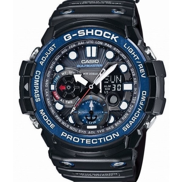 Casio G-Shock GULFMASTER GN1000B-1A. Opens flyout.