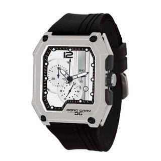 Jorg Gray JG7100-22 Men's Watch Silver Dial Chronograph Rectangular Case