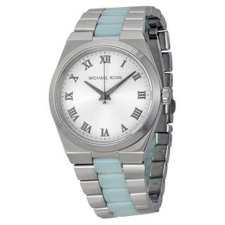 Michael Kors Women's MK6150 'Channing' Two-Tone Stainless Steel Watch