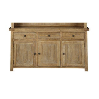 Transitional Solid Ash and Elm Buffet