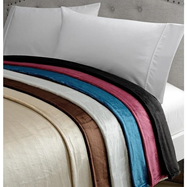 Amelia Queen Super Soft Flannel Blanket