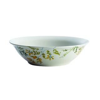 Paula Deen(r) Dinnerware Garden Rooster 10-Inch Stoneware Round Serving Bowl, Print
