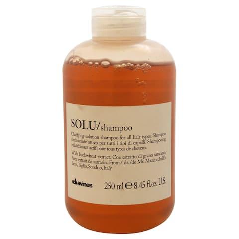 Davines Solu Clarifying Solution 8.45-ounce Shampoo