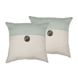 Sherry Kline Oasis Aqua 18-inch Decorative Pillow (set of 2)