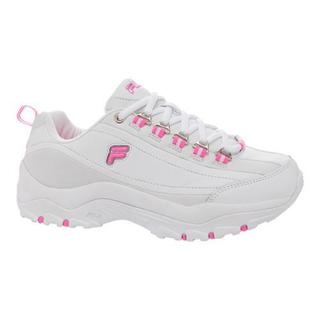 Women's Fila Memory Proficient White/Sugar Plum/Metallic Silver