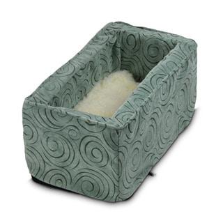 Snoozer Console Pet Car Seat Box Robin's Egg Blue