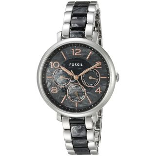 Fossil Women's ES3924 'Jacqueline' Multi-Function Two-Tone Stainless Steel Watch