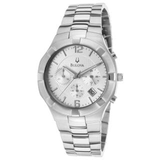 Bulova Men's 96B146 'Classic' Chronograph Stainless Steel Watch