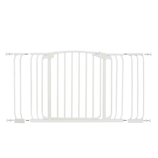 "Dreambaby Chelsea Xtra Hallway Swing Close Gate Combo Pack (includes 1 x 3.5"" and 1 x 7"" extension) (Option: White)"