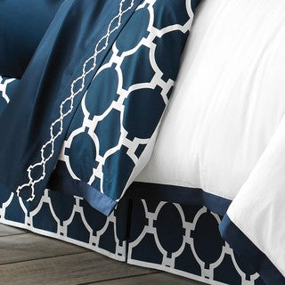 Jill Rosenwald Copley Collection Hampton Links Reversible Bed Skirt