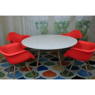 Paris Tower Round Table 5-Piece Dining Set