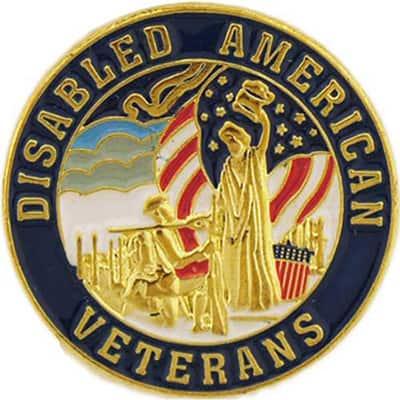 Disabled American Veterans Pin