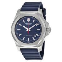 Victorinox Swiss Army  Men's I.N.O.X. Blue Rubber Strap Watch