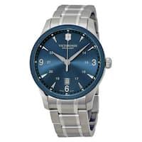Victorinox Swiss Army  Men's Alliance Stainless Steel Blue Watch