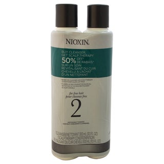Nioxin System 2 Cleanser & Scalp Therapy Conditioner Duo
