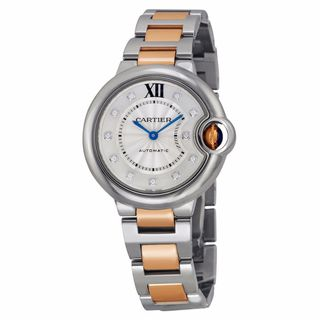 Cartier Men's WE902061 Ballon Bleu De Cartier Silver Watch