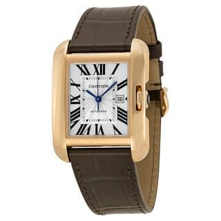 Cartier Women's Tank Anglaise Silver Watch