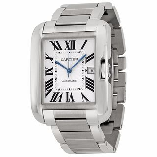 Cartier Men's W5310008 Tank Anglaise Silver Watch
