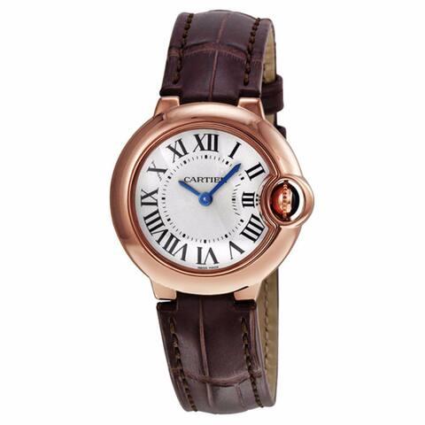 Cartier Women's Ballon Bleu De Cartier Silver Watch