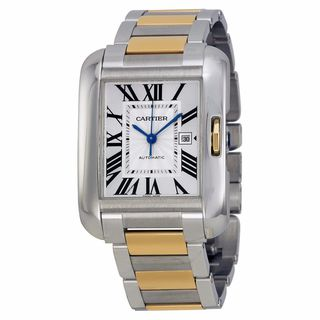 Cartier Women's W5310047 Tank Anglaise Silver Watch