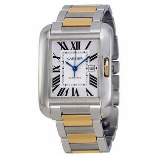 Cartier Women's W5310047 Tank Anglaise Silver Watch