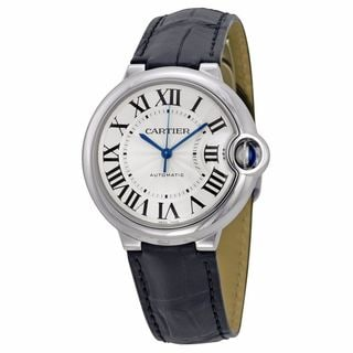 Cartier Women's W69017Z4 Ballon Bleu De Cartier Silver Watch