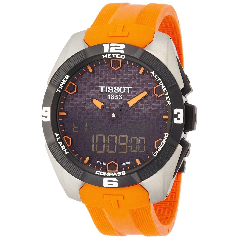 Tissot Men's T0914204705101 'T-Touch Expert' Digital Oran...