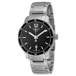 Tissot Men's T0954101105700 'Quickster' Black stainless steel Watch
