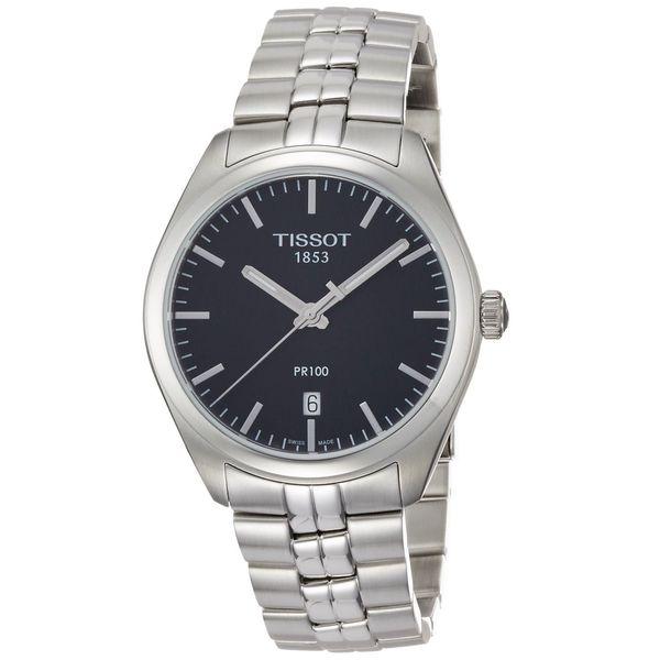 Tissot Men's T1014101105100 'PR 100' Stainless Steel Watch. Opens flyout.