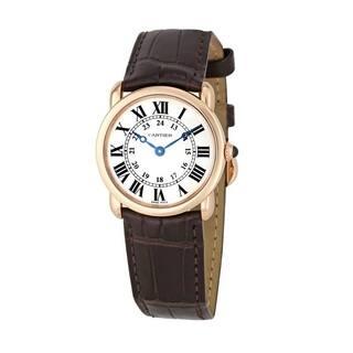 Cartier Women's Ronde Louis Cartier Silver Watch