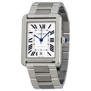 Cartier Men's W5200028 Tank Solo Silver Watch