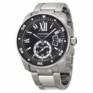 Cartier Men's W7100057 Calibre De Cartier Diver Black Watch