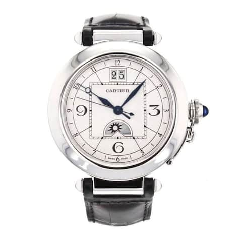 Cartier Men's Pasha De Cartier Silver Watch