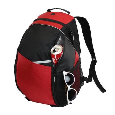 Goodhope Unique Foil-lined Functional 15-inch Laptop Backpack with Bottle Pocket
