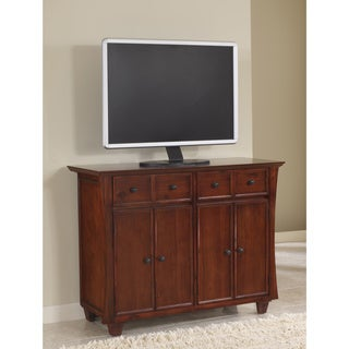 Michelle Media Chest in Mahogany with drop down drawers