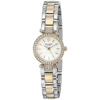 Kate Spade Women's 1YRU0722 'Tiny Gramercy' Crystal Two-Tone Stainless Steel Watch