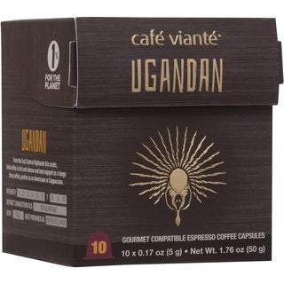 Cafe Viante Ugandan Espresso Nespresso Compatible Coffee Capsules (Pack of 7)