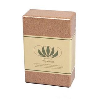 J/Fit 3-inch Eco-Friendly Cork Yoga Block