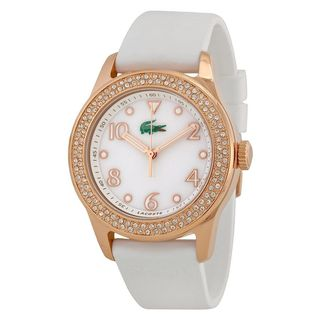 Lacoste Women's 2000648 'Advantage' White Silicone Watch