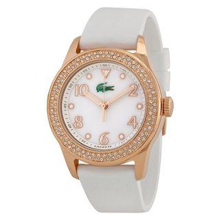 Lacoste Women's 2000648 'Advantage' White Silicone Watch