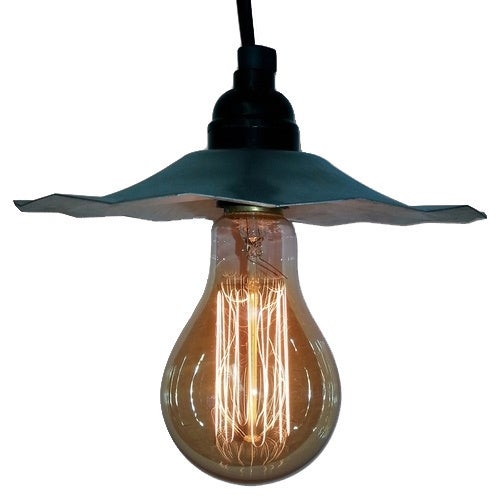 Pendant Light w/ clear glass bulbs