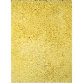 Palo Alto Shag Rug in Yellow (5' x 7'6)