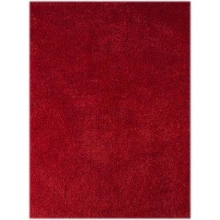 Palo Alto Shag Rug in Red (8' x 11')