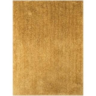 Palo Alto Shag Rug in Gold (2' x 3')