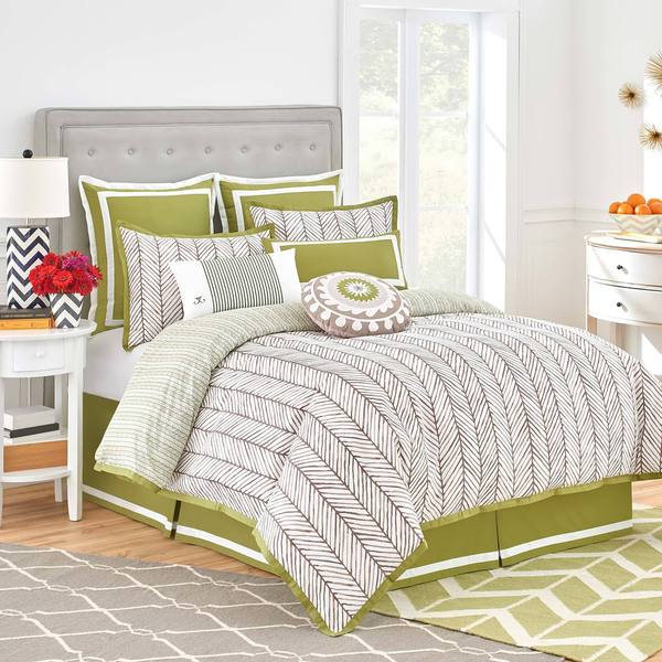 Jill Rosenwald Arrows Reversible Comforter Set