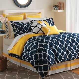 Oliver & James Lucian Geometric Comforter Set