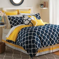 Oliver & James Lucian Geometric Comforter Set